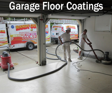 Custom Garage Floor Coatings